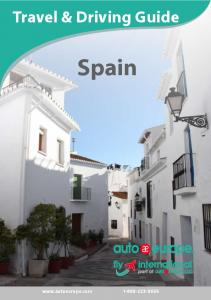 Spain Travel and Driving Guide - Auto Europe