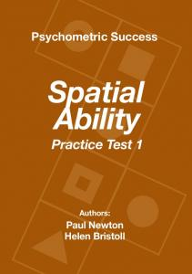 Spatial Ability Practice Test 1 - Psychometric Success