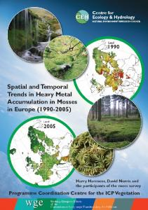 Spatial and temporal trends in heavy metal ... - the ICP Vegetation
