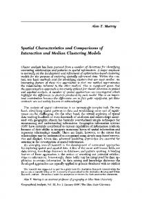 Spatial Characteristics and Comparisons of ... - Wiley Online Library