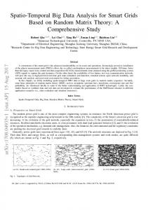 Spatio-Temporal Big Data Analysis for Smart Grids