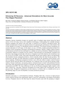 SPE-182747-MS Enhancing Oil Recovery - Advanced ... - OnePetro