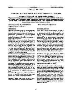 Emergency Medical Conditions, EMTALA, and Hospital Transfers