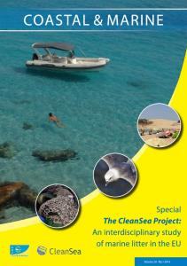 special issue of Coastal & Marine - CleanSea