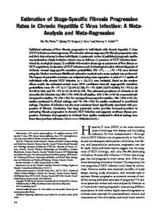 'specific fibrosis progression rates in chronic ... - Wiley Online Library
