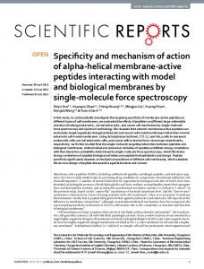 Specificity and mechanism of action of alpha ... - Semantic Scholar