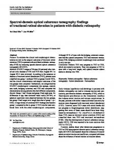 Spectral-domain optical coherence tomography ...