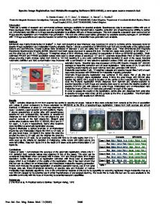 Spectro Image Registration And Metabolite-mapping ...