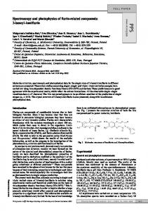 Spectroscopy and photophysics of flavin-related ...