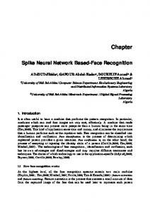 Spike Neural Network Based-Face Recognition