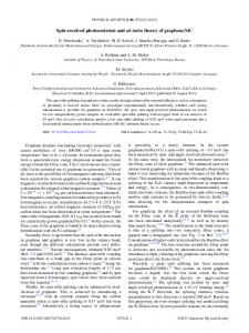 Spin-resolved photoemission and ab initio theory of ... - JuSER