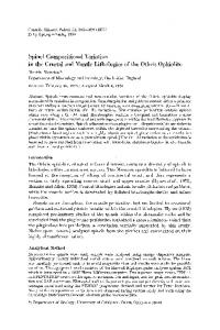 Spinel compositional variation in the crustal and ... - Semantic Scholar