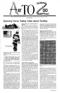 Spinning Yarns, Telling Tales about Textiles - Smithsonian Education