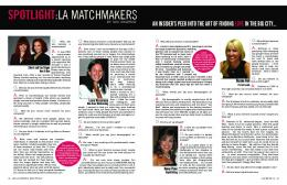 SPOTLIGHT:LA MATCHMAKERS
