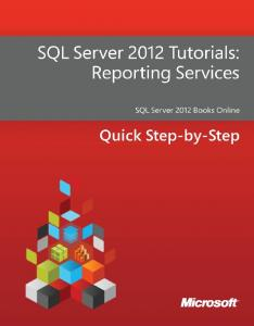 SQL Server 2012 Tutorials : Reporting Services - Microsoft ...