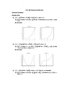 STA 130A Homework #3 Solutions Textbook Problems: Exercise 3.3 ...