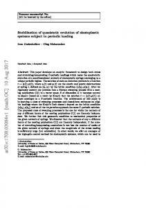 Stabilization of quasistatic evolution of elastoplastic systems subject to