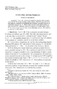 stabilizing tensor products - American Mathematical Society