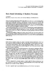 Stack-based scheduling of realtime processes - Springer Link