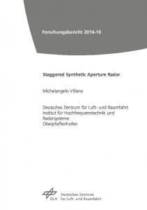 Staggered Synthetic Aperture Radar