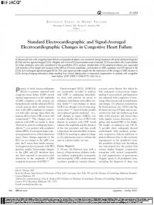 Standard Electrocardiographic and Signal ... - Wiley Online Library