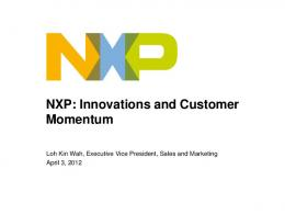 Standard Products - NXP Semiconductors