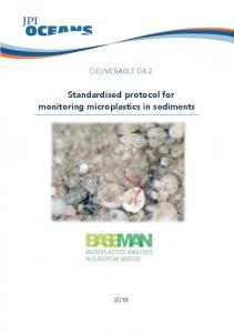 Standardised protocol for monitoring microplastics in