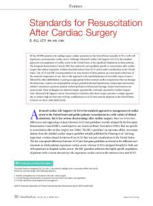 Standards for Resuscitation After Cardiac Surgery - CiteSeerX