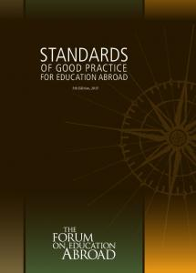 Standards of Good Practice for Education Abroad