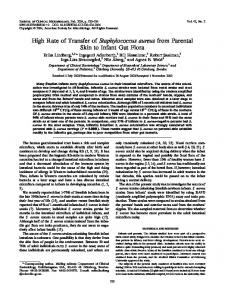 Staphylococcus aureus - Journal of Clinical Microbiology - American ...