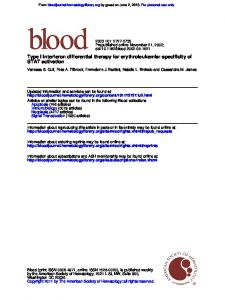 STAT activation Type I interferon differential therapy ...