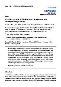 STAT3 Activation in Glioblastoma - BioMedSearch