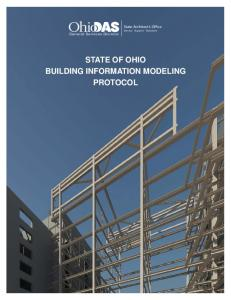 State of Ohio BIM Protocol - Ohio Department of Administrative Services