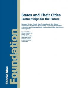 States and Their Cities: Partnerships for the Future - George ...