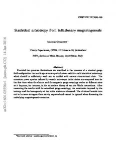 Statistical anisotropy from inflationary magnetogenesis