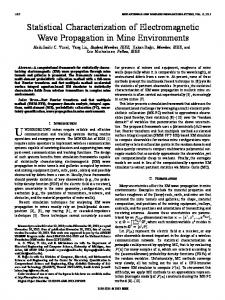 Statistical Characterization of Electromagnetic Wave Propagation in ...