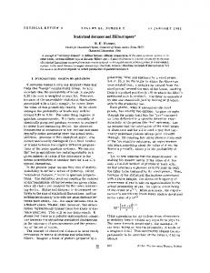 Statistical distance and Hilbert space*
