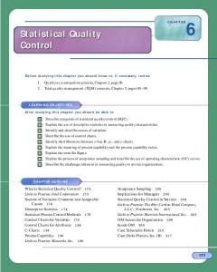 Statistical Quality Control Statistical Quality Control - Wiley