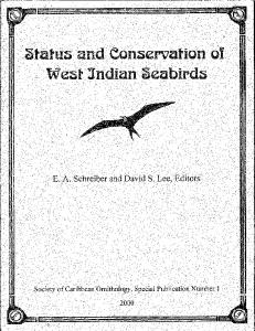 Status and Conservation of West Indian Seabirds