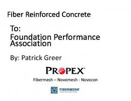 Steel and Macro Fiber Reinforced Concrete Technology