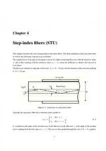 Step-index fibers (STU)