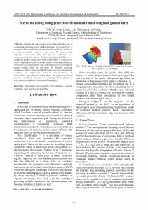 Stereo matching using pixel classification and dual-weighted guided
