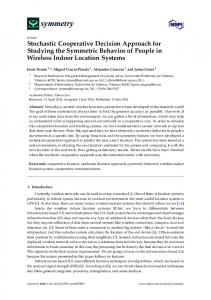 Stochastic Cooperative Decision Approach for ... - Semantic Scholar