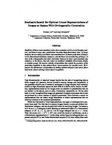 Stochastic Search for Optimal Linear ... - Semantic Scholar
