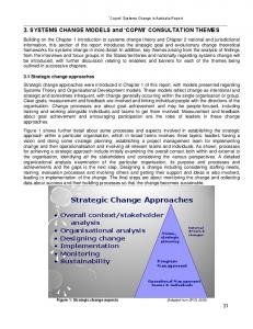Strategic Change Approaches