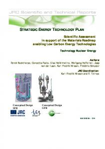 strategic energy technology plan