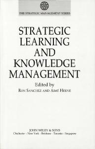 strategic learning and knowledge management - RePub, Erasmus ...