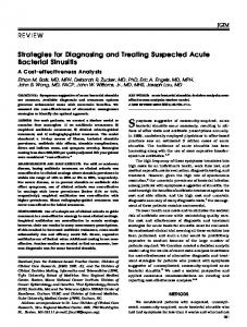 Strategies for Diagnosing and Treating ... - Wiley Online Library
