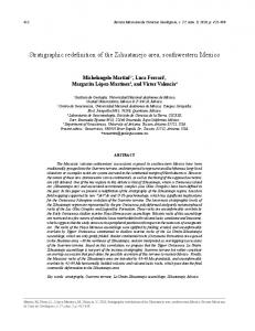 Stratigraphic redefinition of the Zihuatanejo area, southwestern Mexico