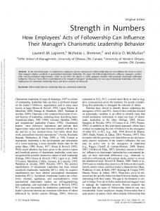 Strength in Numbers - APA PsycNET - American Psychological